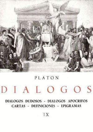 DIÁLOGOS DE PLATÓN. (TOMO IX)