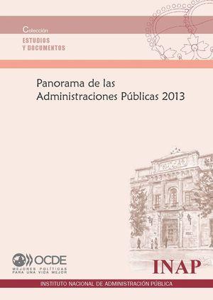 PANORAMA DE LAS ADMINISTRACIONES PUBLICAS 2013
