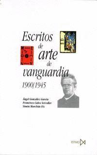 ESCRITOS DE ARTE DE VANGUARDIA 1900-45