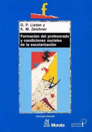 FORMACION DEL PROFESORADO Y CONDICIONES SOCIALES ESCOLARIZACION
