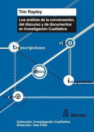 LOS ANÁLISIS DE CONVERSACIÓN, DE DISCURSO Y DE DOCUMENTOS EN INVESTIGACIÓN CUALI