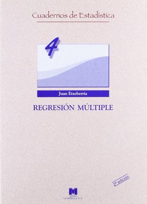 REGRESION MULTIPLE 2ª EDICION