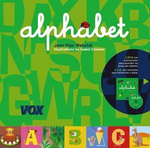 ALPHABET ABECEDARIO EN INGLES + CD
