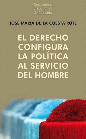 DERECHO CONFIGURA LA POLÍTICA AL SERVICIO DEL HOMB