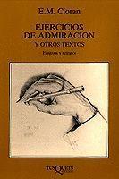 EJERCICIOS DE ADMIRACIÓN