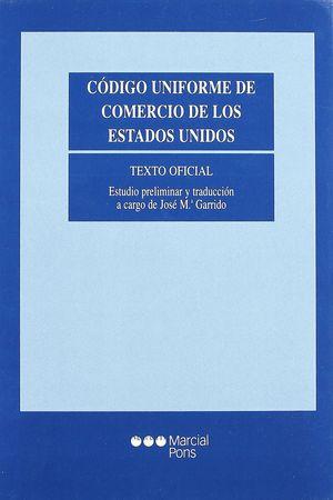 CÓDIGO UNIFORME DE COMERCIO DE LOS ESTADOS UNIDOS