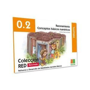 RAZONAMIENTO CONCEPTOS BASICOS NUMERICOS 0.2 RED INFANTIL