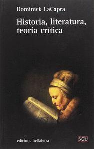 HISTORIA, LITERATURA, TEORÍA CRÍTICA
