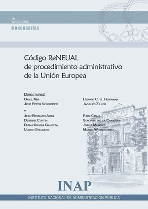CODIGO RENEUAL DE PROCEDIMIENTO ADMINISTRATIVO DE LA U.E.