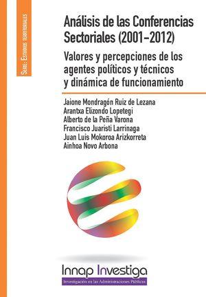 ANALISIS DE LAS CONFERENCIAS SECTORIALES(2001-2012)