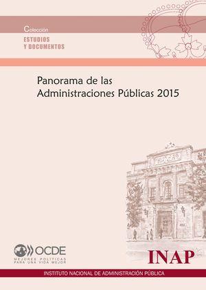 PANORAMA DE LAS ADMINISTRACIONES PUBLICAS 2015