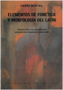 ELEMENTOS DE FONETICA Y MORFOLOGIA DEL LATIN