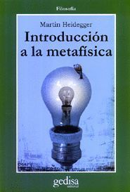 INTRODUCCION A LA METAFISICA