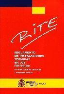 RITE : REGLAMENTO DE INSTALACIONES TÉRMICAS EN LOS EDIFICIOS E INSTRUCCIONES TÉC