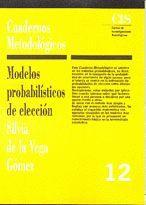 MODELOS PROBABILISTICOS DE ELECCION
