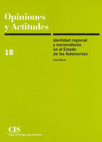 IDENTIDAD REGIONAL Y NACIONALISMO EN EL ESTADO DE LAS AUTONOMÍAS