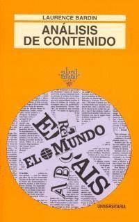 ANALISIS DE CONTENIDO