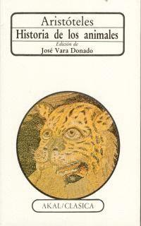 HISTORIA DE LOS ANIMALES /ED.VARA DONAD