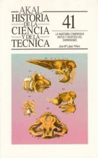 LA ANATOMIA COMPARADA ANTES DESPUES DARWINISMO