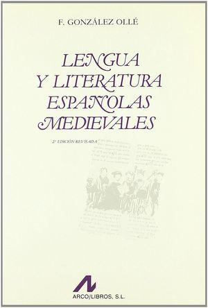 LENGUA Y LITERATURA ESPAÑOLA MEDIEVALES