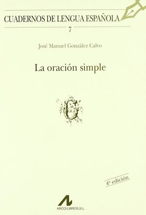LA ORACION SIMPLE
