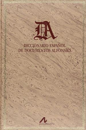 DICCIONARIO ESPAÑOL DE DOCUMENTOS ALFONSÍES