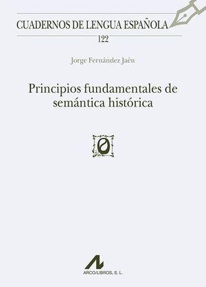 PRINCIPIOS FUNDAMENTALES DE SEMANTICA HISTORICA