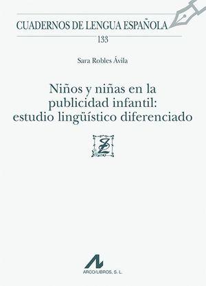 NIÑOS Y NIÑAS EN LA PUBLICIDAD INFANTIL: ESTUDIO LINGÜÍSTICO DIFERENCIADO