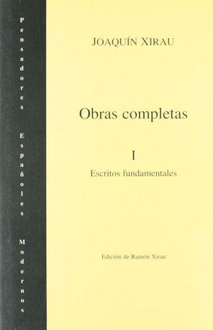 OBRAS COMPLETAS XIRAU I
