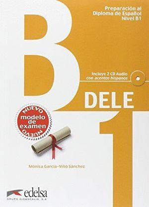 DELE B1 LIBRO+CD (PREPARACION DIPLOMA ESPAÑOL ED.2013)