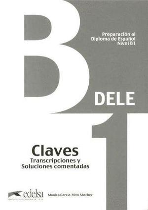PREPARACION DELE B1 CLAVES (2013)