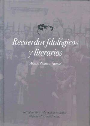 RECUERDOS FILOLÓGICOS Y LITERARIOS