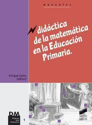 DIDACTICA DE LA MATEMATICA EN LA EDUCACION PRIMARIA