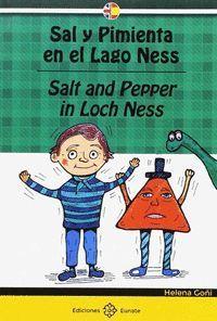 SAL Y PIMIENTA EN EL LAGO NESS (BILINGUE)
