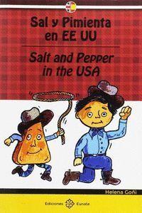 SAL Y PIMIENTA EN USA (BILINGUE)