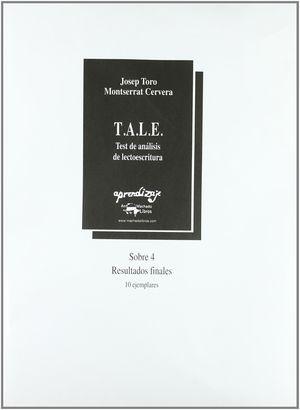TALE SOBRE 4