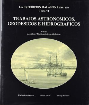 TRABAJOS ASTRONÓMICOS, GEODÉSICOS E HIDROGRÁFICOS