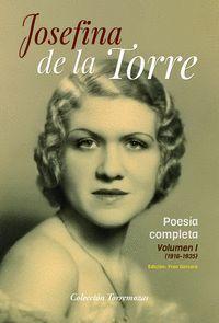 POESIA COMPLETA JOSEFINA DE LA TORRE VOLUMEN 1