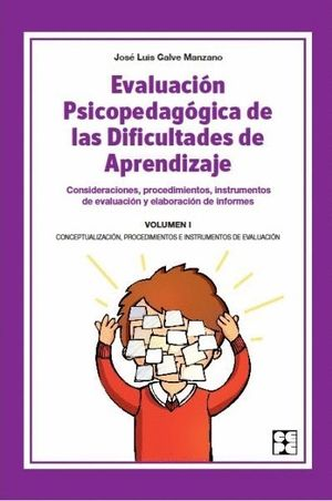 EVALUACION PSICOPEDAGOGICA DIFICULT.APRENDIZ.VOL.1