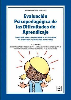 EVALUACION PSICOPEDAGOGICA DIFICULT.APRENDIZ.VOL.2