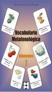 ALIMENTOS 2 VOCABULARIO METAFONOLOGICO
