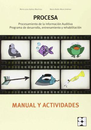 PROCESA MANUAL Y ACTIVIDADES PROCESAMIENTO INFORMACION AUDITIVA: