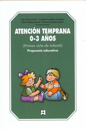 ATENCIÓN TEMPRANA 0-3 AÑOS