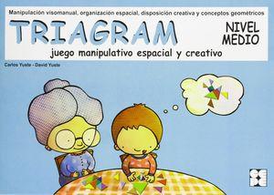 TRIAGRAM JUEGO MANIPULATIVO ESPACIAL Y CREATIVO. NIVEL MEDIO