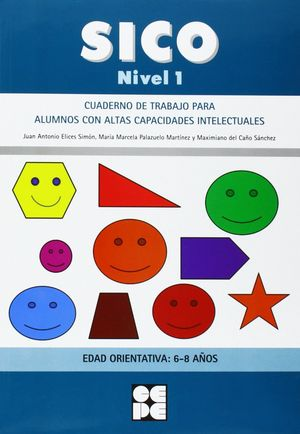 SICO 1 (6-8 AÑOS) CUADERNO DE TRABAJO PARA ALUMNOS CON ALTAS CAPACIDADES INTELEC
