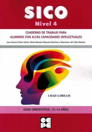 SICO NIVEL 4 - CUAD TRABAJO PARA ALUMNOS CON ALTAS CAPACIDADES INTELECTUALES