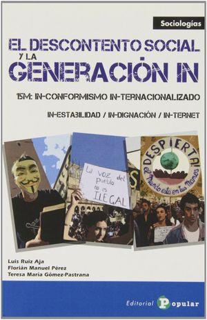 EL DESCONTENTO SOCIAL Y LA GENERACIÓN IN