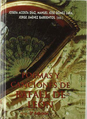 POEMAS Y CANCIONES DE RAFAEL DE LEON (T)
