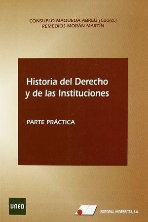 HISTORIA DEL DERECHO Y DE LAS INSTITUCIONES