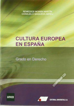 CULTURA EUROPEA EN ESPAÑA. GRADO EN DERECHO